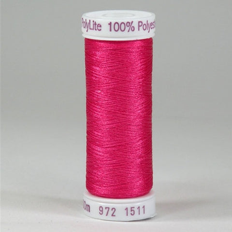 Sulky 60wt PolyLite in Deep Rose, 440yd Spool