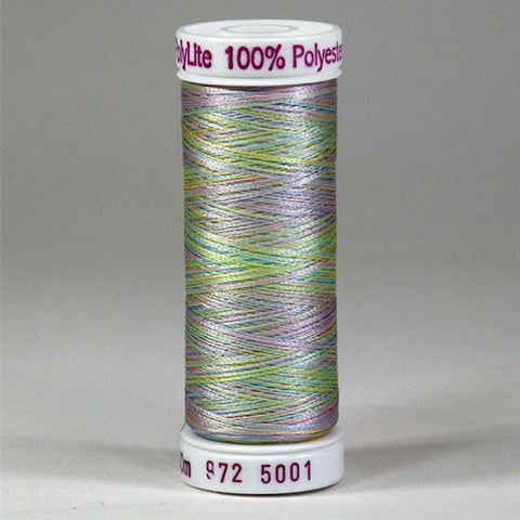 Sulky 60wt PolyLite in Multi-Color Baby Shower