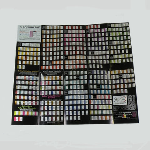 "Sulky Products & Thread Brochure,19-3/4"" x 25"""