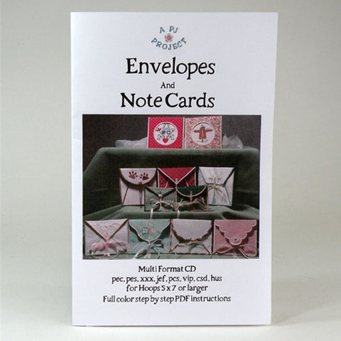 Envelopes & Note Cards Design CD by A PJ Project