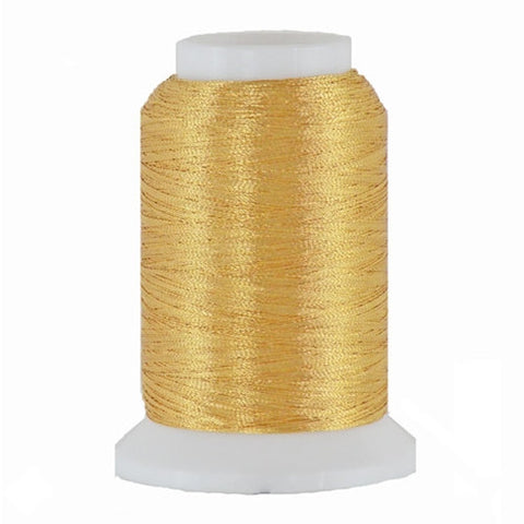 Artistic 40/2 Metallic Thread in Gold, 1000yd
