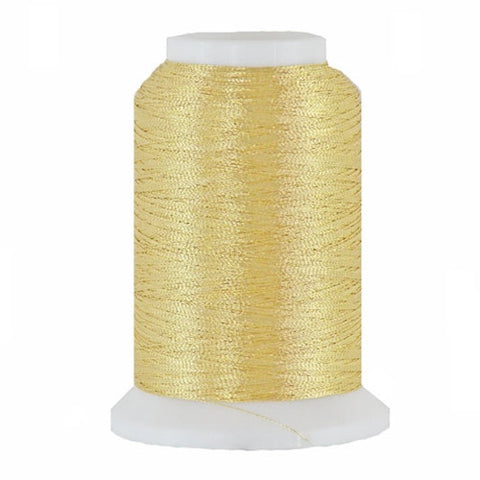 Artistic 40/2 Metallic Thread in Champagne, 1000yd