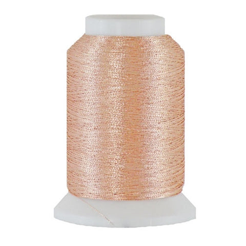 Artistic 40/2 Metallic Thread in Peach, 1000yd