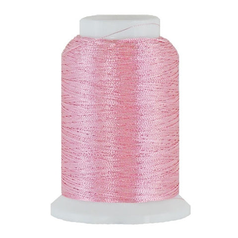 Artistic 40/2 Metallic Thread in Pink, 1000yd