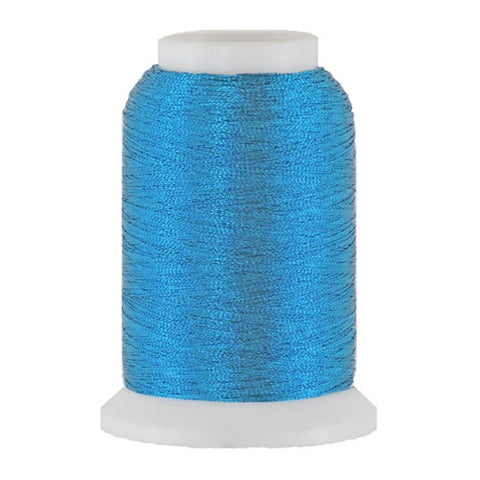 Artistic 40/2 Metallic Thread in Cerulean, 1000yd