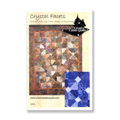 Crystal Facets by Creative Cabin Quilts