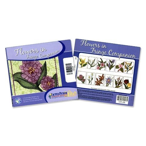 Flowers in Fringe Companion CD by Cactus Punch