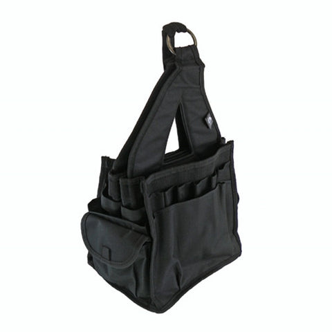 Bluefig Crafter Tote in Black with 20 Pockets