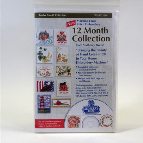 Twelve Month Collection CD by Sudberry House