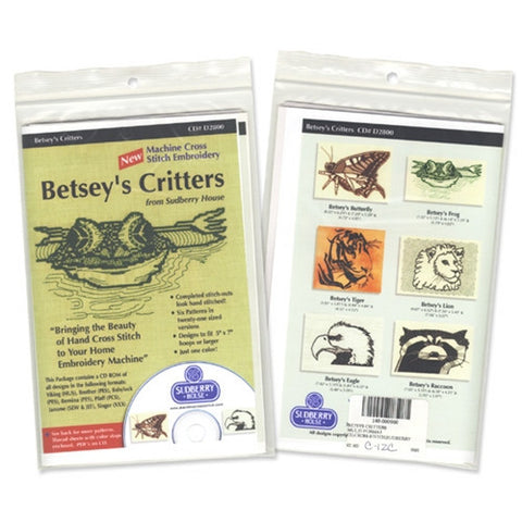 Betsey's Critters CD by Sudberry House