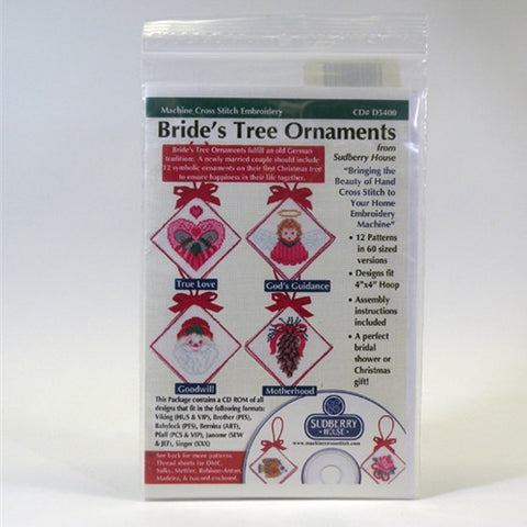 Bride's Tree Ornaments CD by Sudberry House