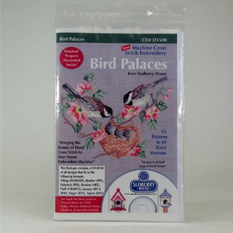 Bird Palaces CD by Sudberry House