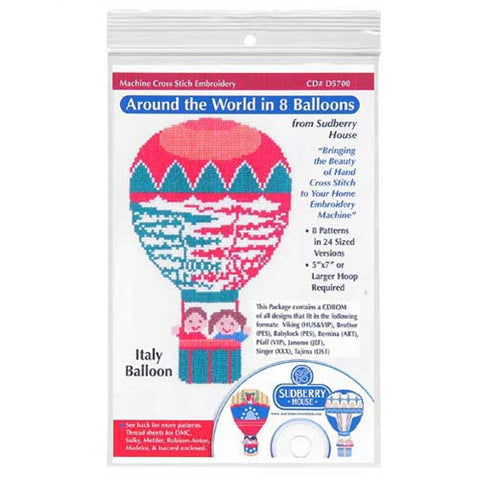 Around the World in 8 Balloons CD by Sudberry House