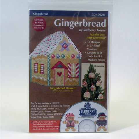 Gingerbread CD by Sudberry House