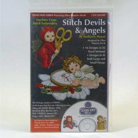 Stitch Devils & Angels CD by Sudberry House