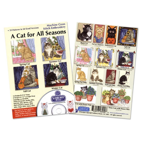 A Cat for All Seasons CD by Sudberry House