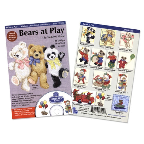 Bears at Play CD by Sudberry House