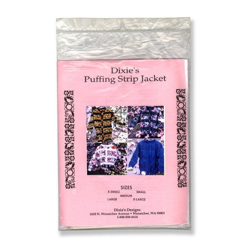Dixie's Puffing Strip Jacket by Dixie's Designs