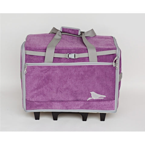 "Bluefig 23"" Wheeled Sewing Machine Bag in Songbird"