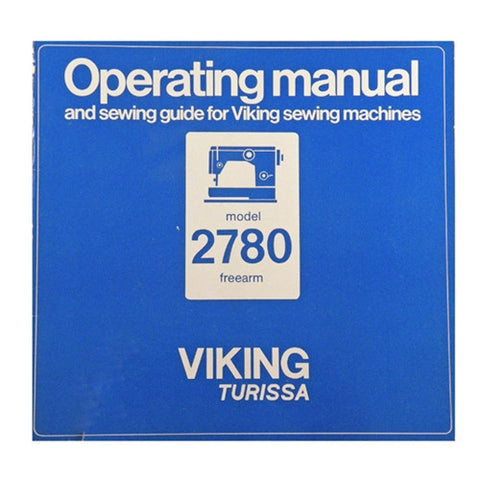 Instruction Book for Viking 2780 Turissa