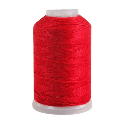 YLI Jean Stitch in Red, 200yd Spool