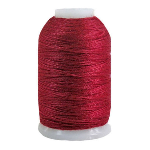 YLI Jean Stitch in Cranberry, 200yd Spool
