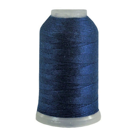 YLI Jean Stitch in Navy, 200yd Spool