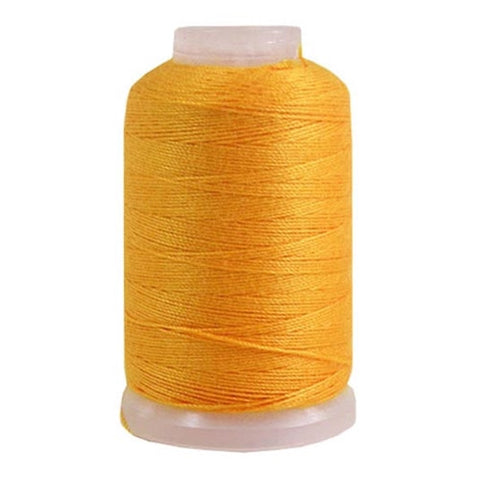 YLI Jean Stitch in Blue Jean Gold, 200yd Spool