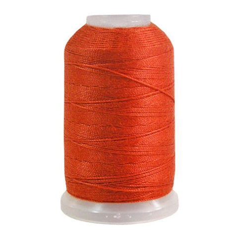 YLI Jean Stitch in Burnt Orange, 200yd Spool