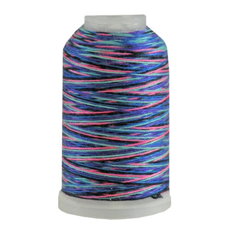 YLI Jean Stitch in Variegated Jewel, 200yd Spool
