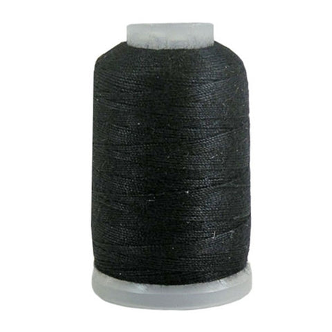 YLI Jean Stitch in Black, 200yd Spool
