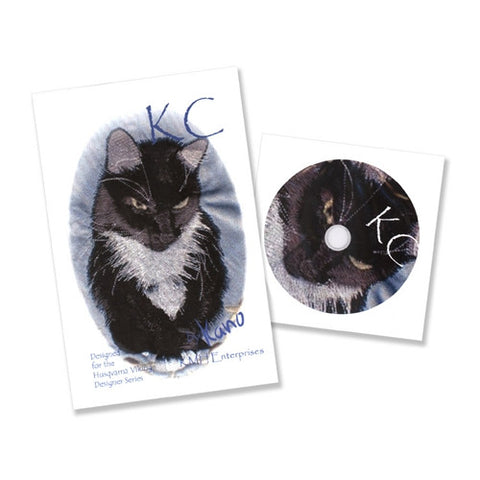 KC Black Cat Design CD by KMH Enterprises