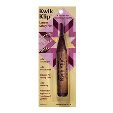 Kwik Klip Quilting Tool for Safety Pins by Paula Jean