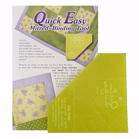 Quick Easy Mitered Binding Tool by Sew Biz