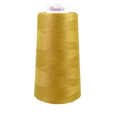 Maxilock Serger Thread in Straw Gold, 3000yd Spool