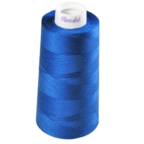 Maxilock Serger Thread in Blue, 3000yd Spool