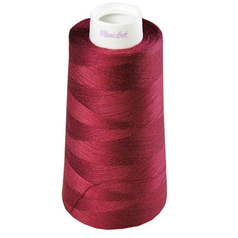 Maxilock Serger Thread in Red Currant, 3000yd Spool