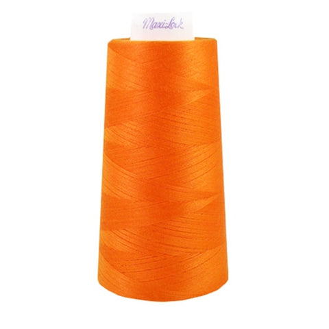 Maxilock Serger Thread in Papaya, 3000yd Spool