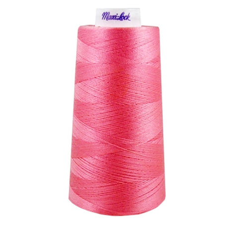 Maxilock Serger Thread in Medium Pink, 3000yd Spool