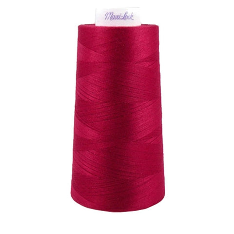 Maxilock Serger Thread in Garnet, 3000yd Spool