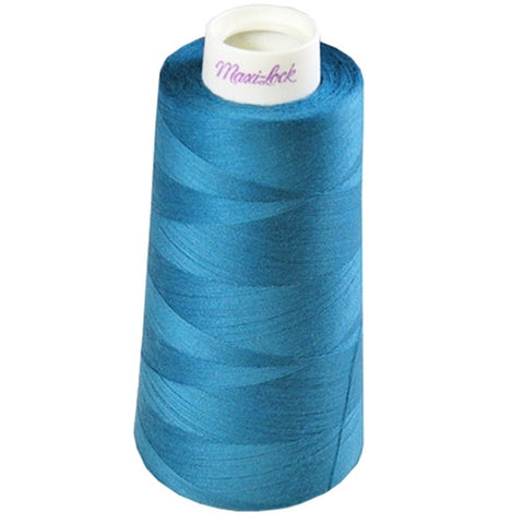 Maxilock Serger Thread in Dark Turquoise, 3000yd Spool