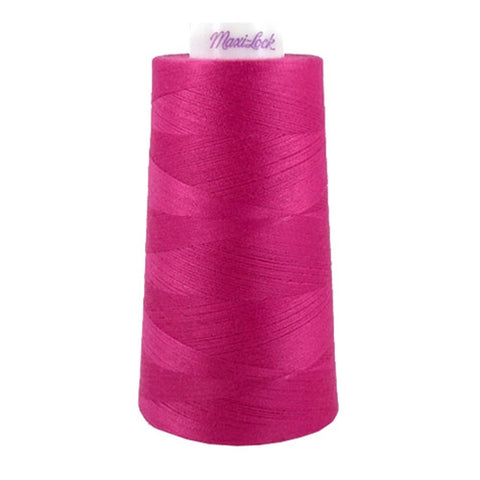 Maxilock Serger Thread in Bright Fuchsia, 3000yd Spool