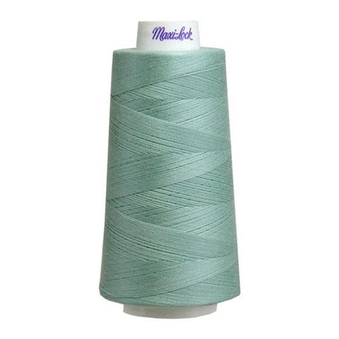 Maxilock Serger Thread in Mint Green, 3000yd Spool