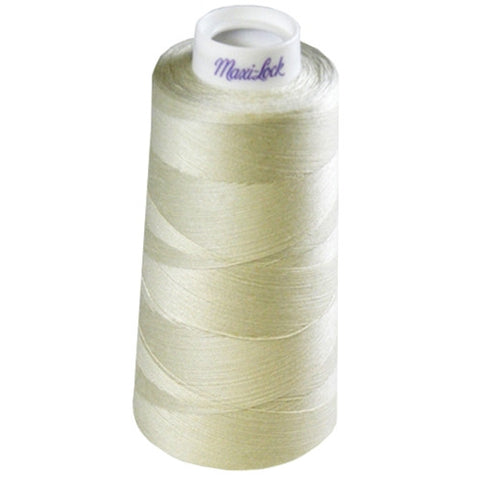 Maxilock Serger Thread in Pearl, 3000yd Spool