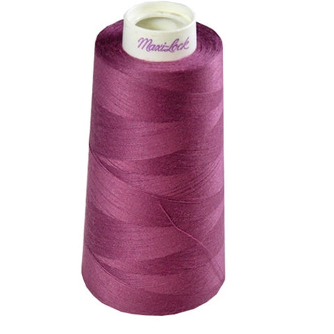 Maxilock Serger Thread in Boysenberry, 3000yd Spool