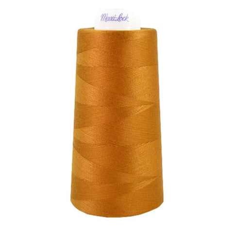 Maxilock Serger Thread in Blue Jean Gold, 3000yd Spool