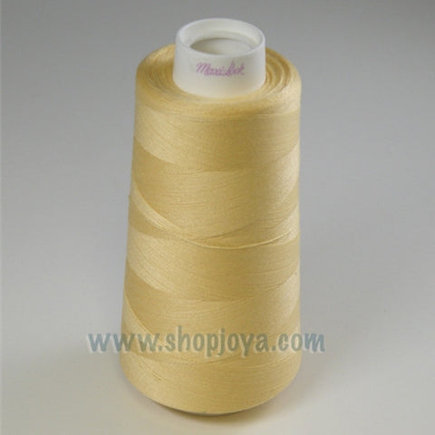 Maxi-Lock Yellow Serger Thread  3000yds