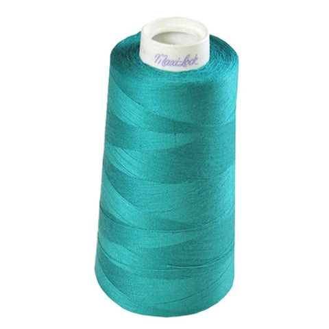 Maxilock Serger Thread in Teal Green, 3000yd Spool