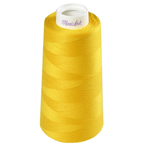 Maxilock Serger Thread in Gold, 3000yd Spool