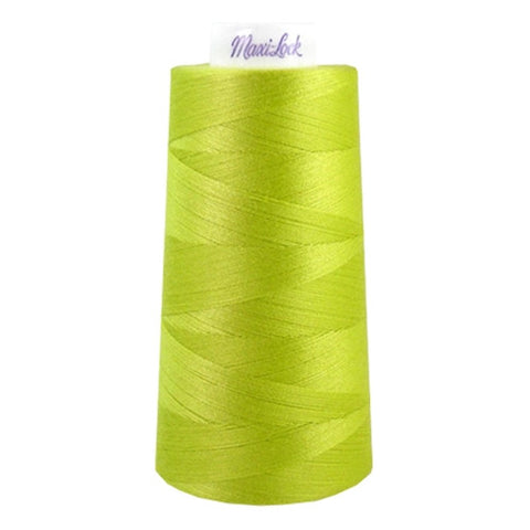 Maxilock Serger Thread in Sour Apple, 3000yd Spool
